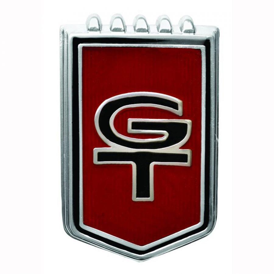 1966 Ford Mustang Emblem GT Fender