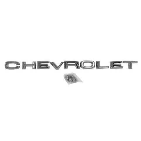1967-1968 Chevrolet Pickup Emblem Hood Chevrolet