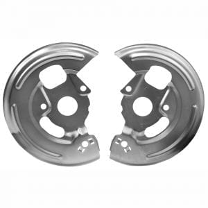 1967-1968 Chevy Camaro Disc Brake Backing Plate Pair