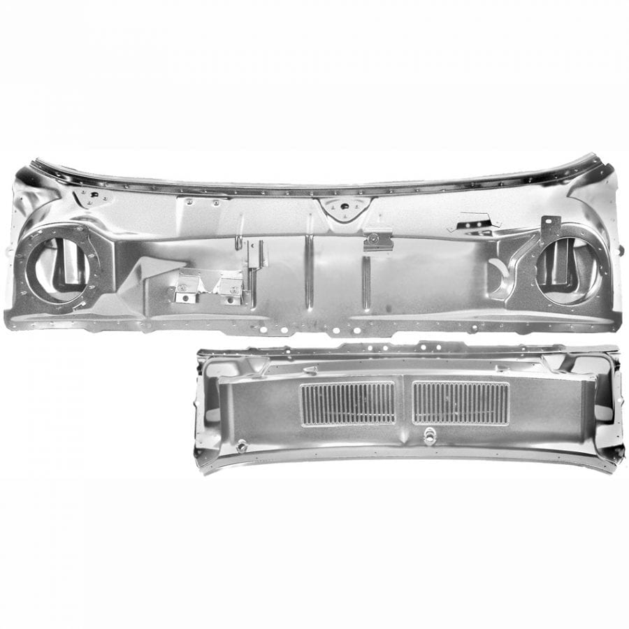 1967-1968 Ford Mustang Cowl Panel/Grille Assembly