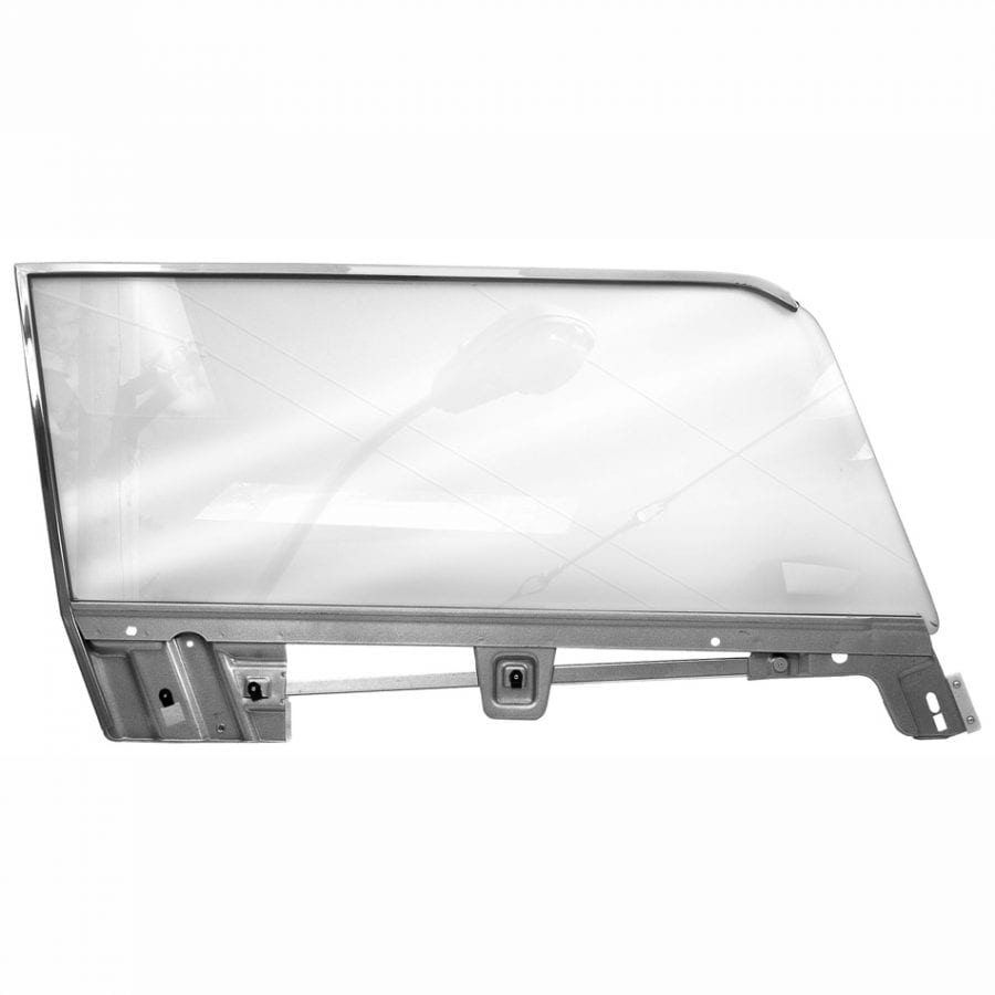 1967-1968 Ford Mustang Door Glass Kits Passenger Side (RH) Coupe