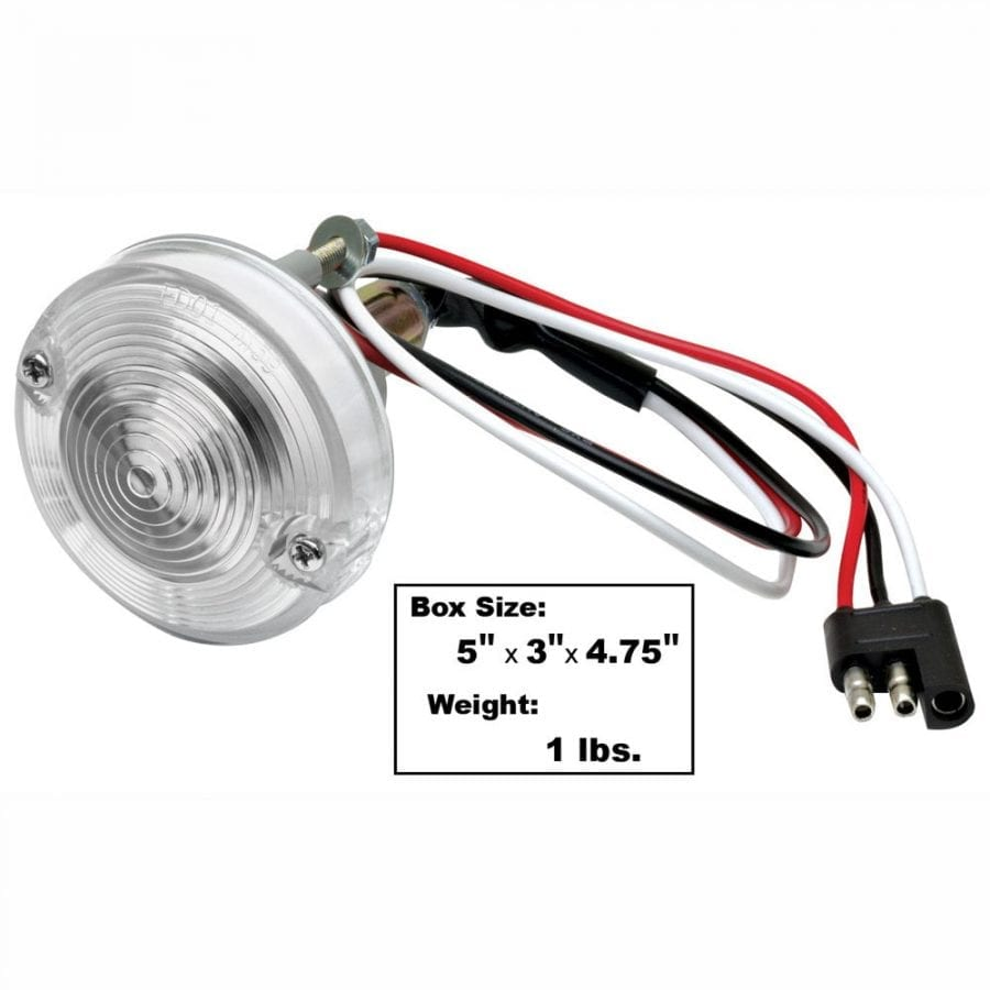 1967-1968 Ford Mustang Park Lamp Assembly