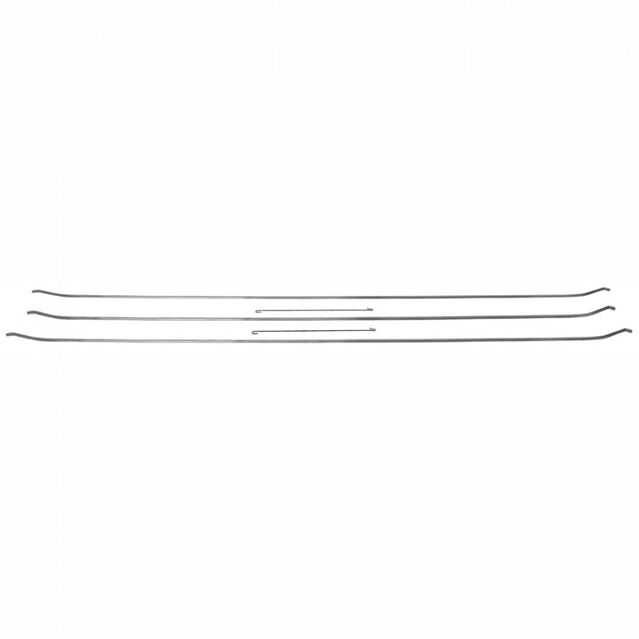 1967-1968 Ford Mustang Roof Headliner Bows Fastback 5Pcs
