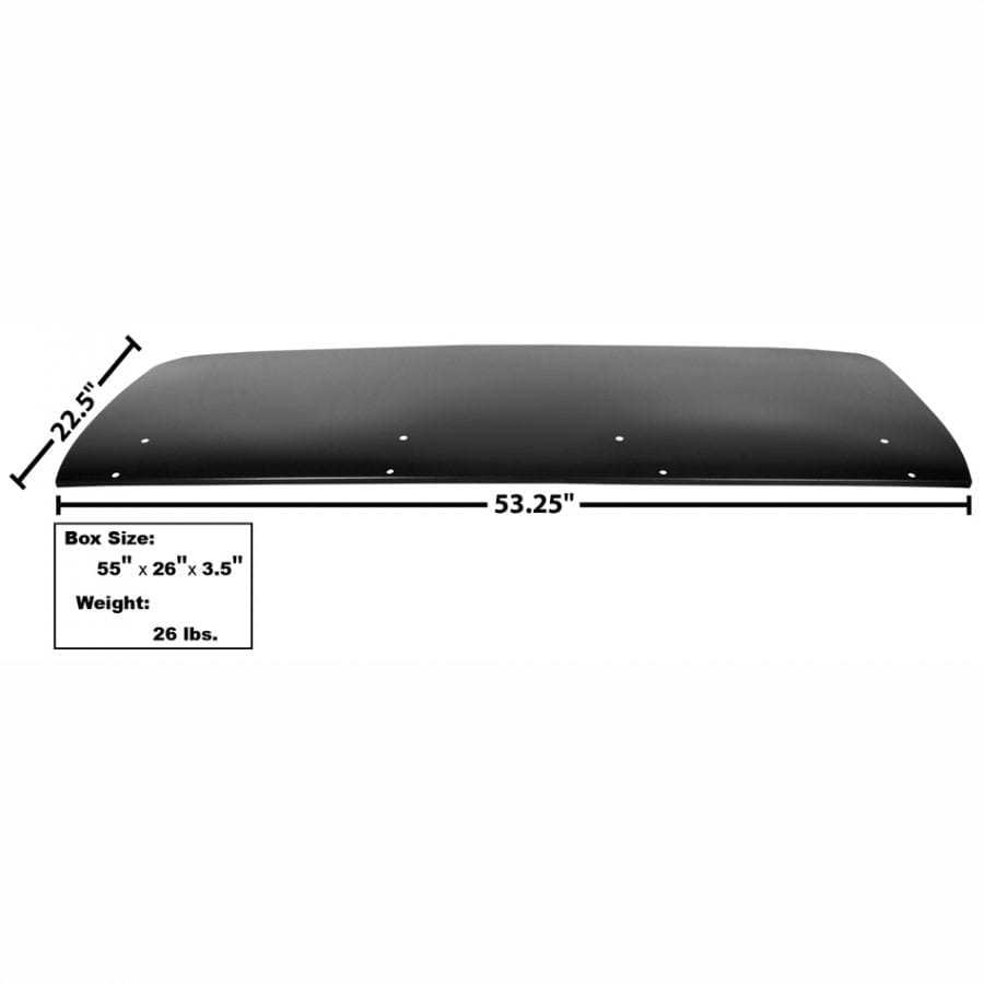 1967-1969 Chevy Camaro Trunk Lid with Spoiler Holes