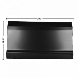 "1967-1972 Ford Pickup Truck Door Skin Half Fits Driver (LH) or Passenger Side (RH) 22""H"