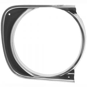 1967 Chevy Camaro Headlamp Bezel Passenger Side (RH) Std