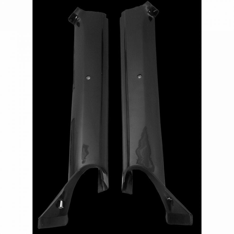 1967 Chevy Camaro or Pontiac Firebird Molding Pillar Post Convertible Black