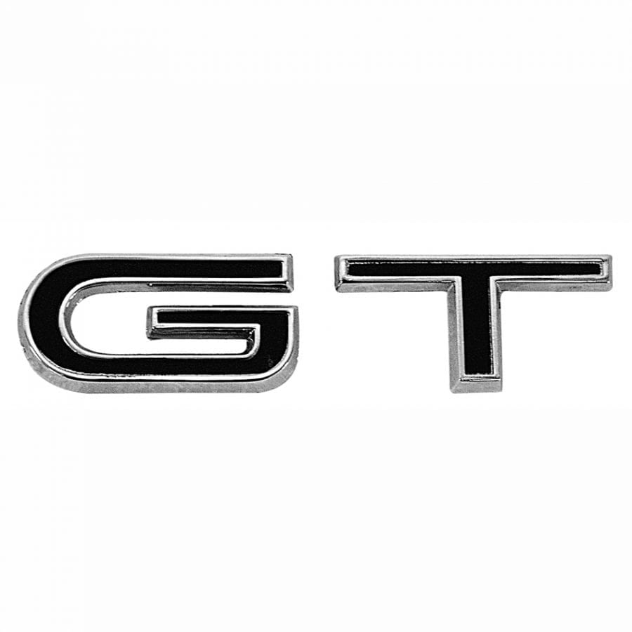 1967 Ford Mustang Emblem Fender GT