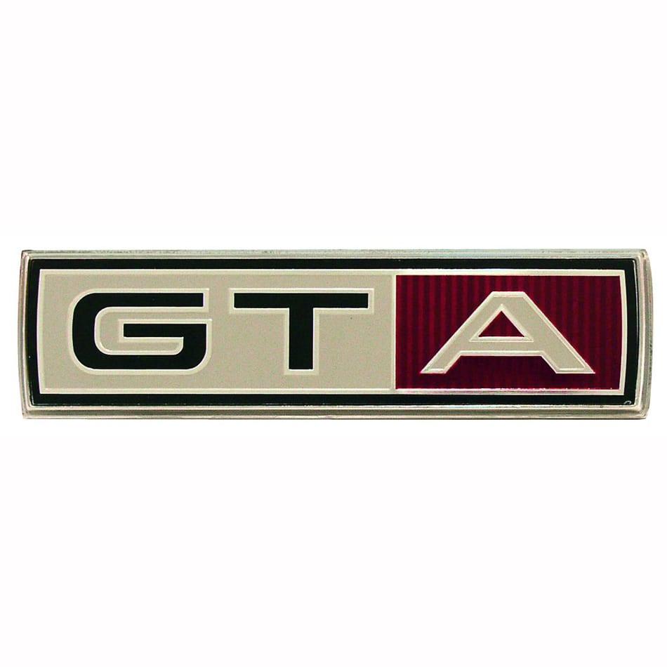 1967 Ford Mustang Emblem Fender GTA