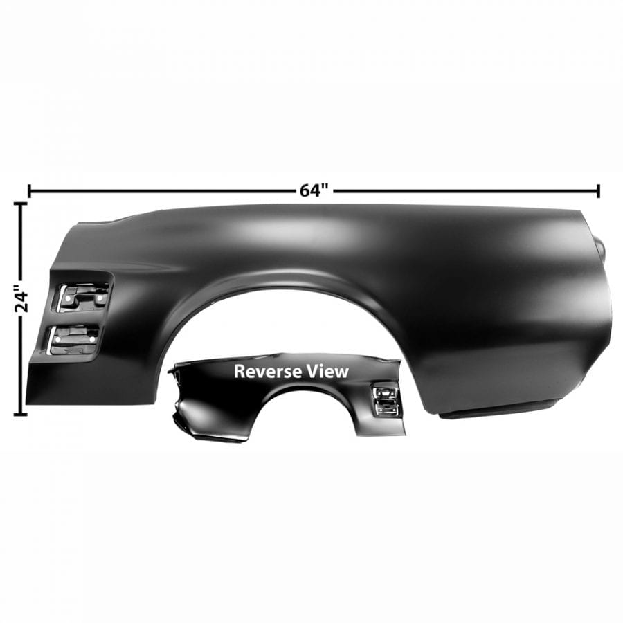 1967 Ford Mustang Quarter Panel Driver Side (LH) Convertible