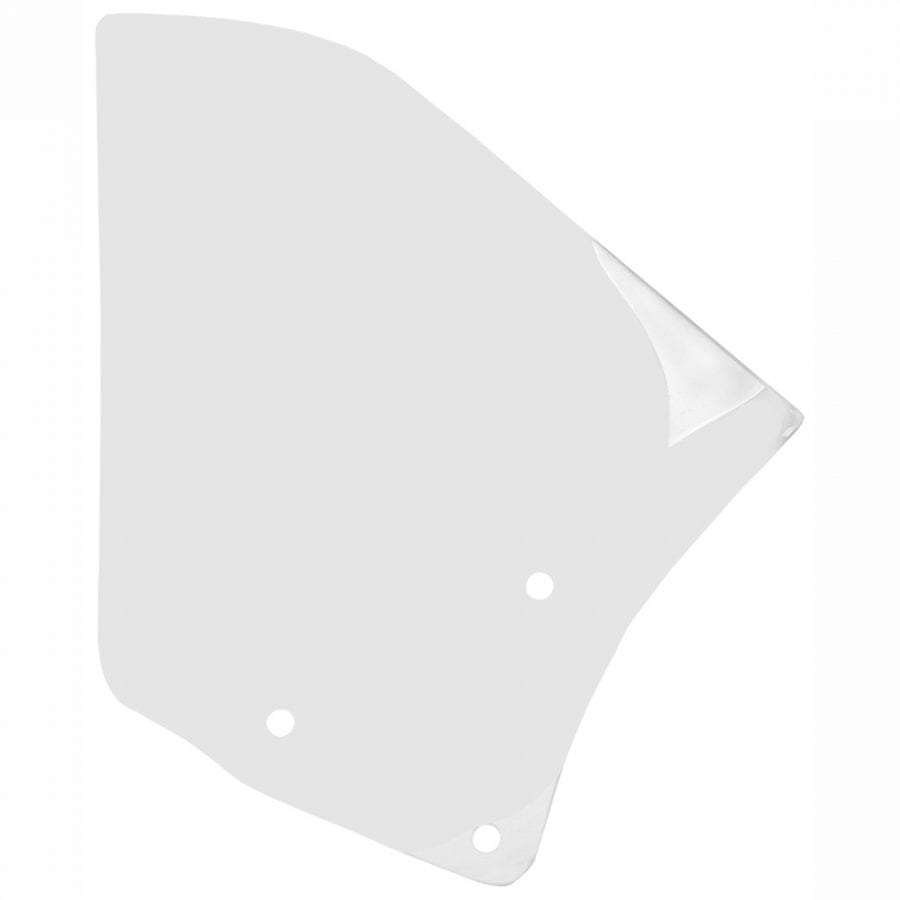 1968-1969 Chevy Camaro Quarter Glass Passenger Side (RH) Convertible Clear