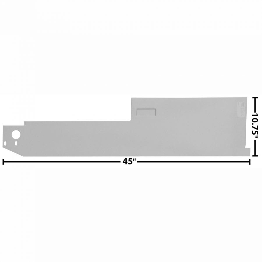 1968-1977 Ford Bronco Rocker Panel Inner Driver Side (LH)