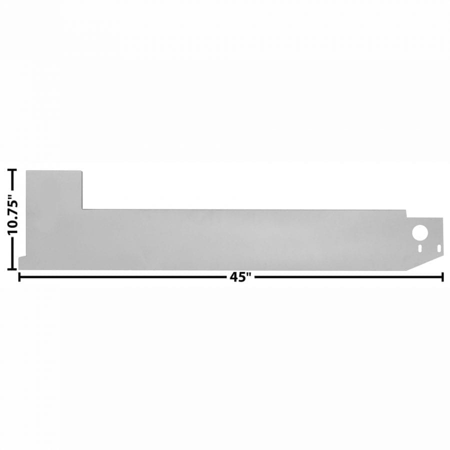 1968-1977 Ford Bronco Rocker Panel Inner Passenger Side (RH)