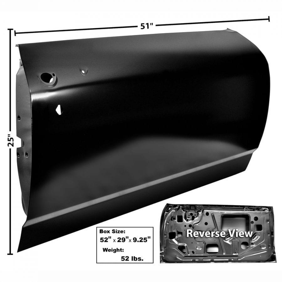 1968 Chevy Chevelle Door Shell Passenger Side (RH)