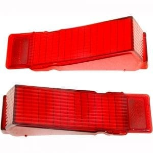1968 Chevy Chevelle Tail Lamp Lens Pair