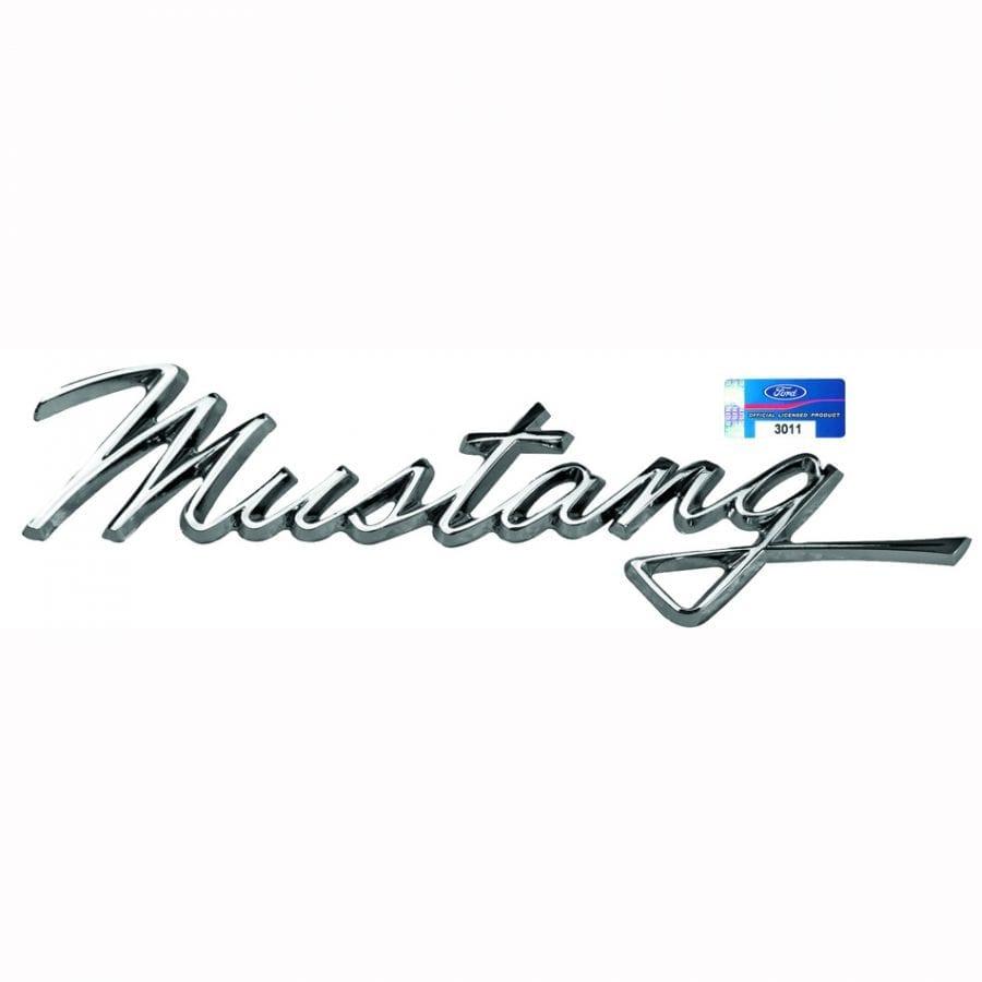 1968 Ford Mustang Emblem Fender