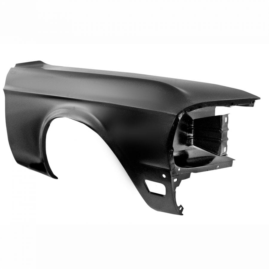 1968 Ford Mustang Fender Passenger Side (RH) with Lamp Holes