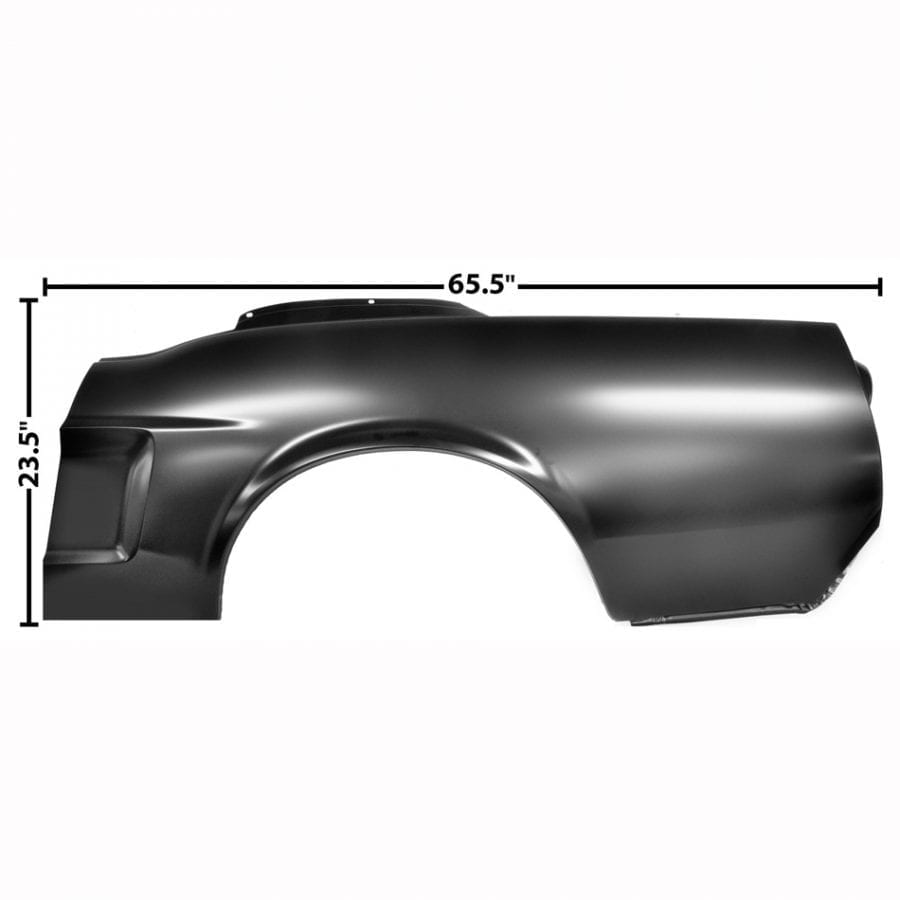 1968 Ford Mustang Quarter Panel Driver Side (LH) Coupe