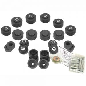 1969-1970 Chevy Impala Bushing Body Kit with Bolts Convertible