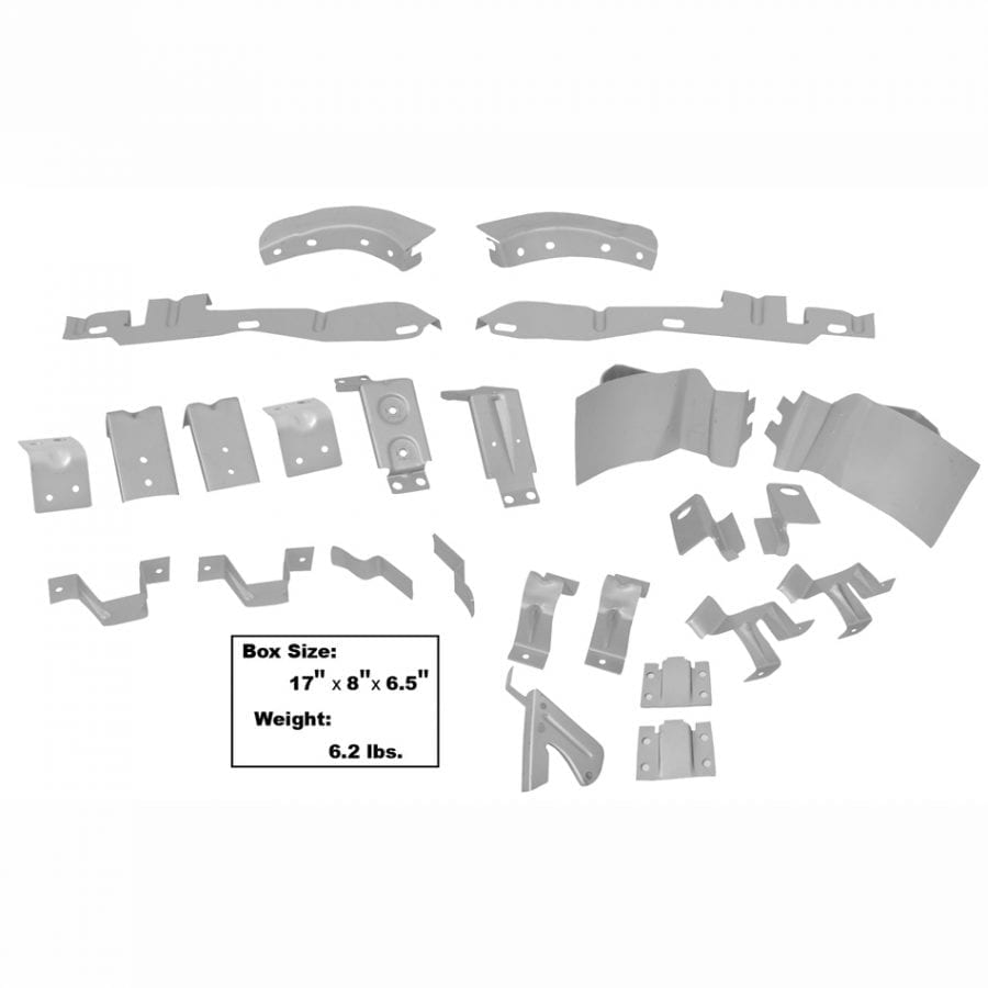 1969-1970 Ford Mustang Fastback Body Bracket Kit