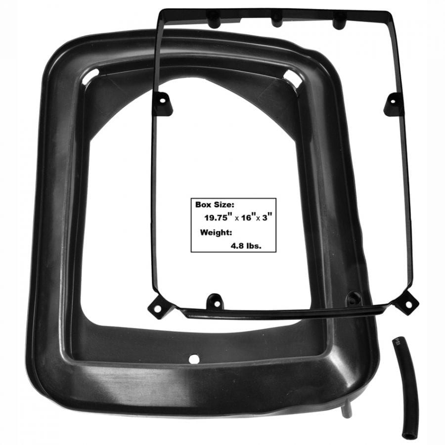 1969-1970 Ford Mustang Shaker Air Hood Seal and Spacer Plate