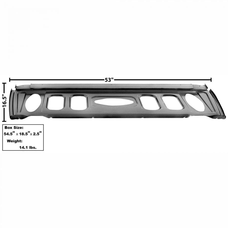 1969-1970 Ford Mustang Trunk Divider/Package Shelf