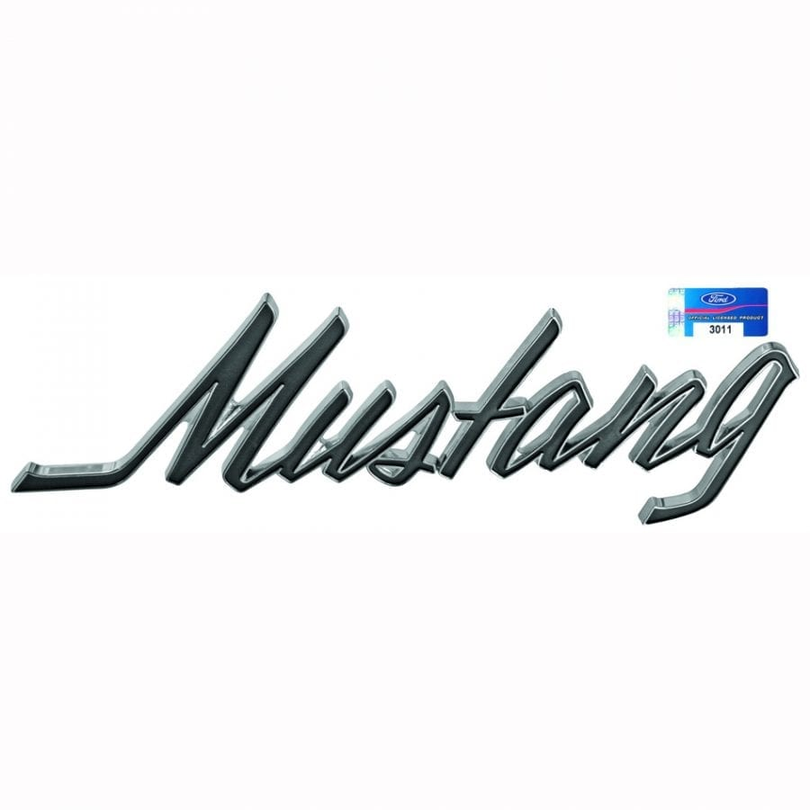 1969-1973 Ford Mustang Trunk Script