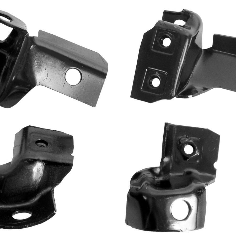 1969 Chevy Camaro Bumper Bracket Rear 4 Pcs/Set