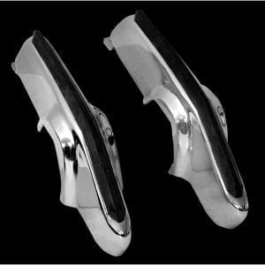 1969 Chevy Camaro Bumper Guards Front Deluxe Pair