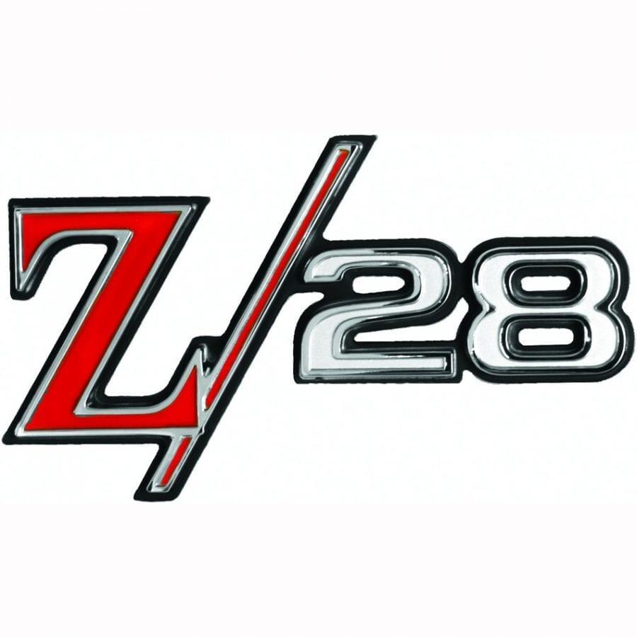 1969 Chevy Camaro Emblem Rear Emblem Z28