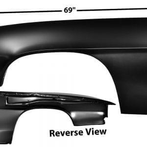 1969 Chevy Camaro Fender Driver Side (LH) w/o Lamp Holes Custom