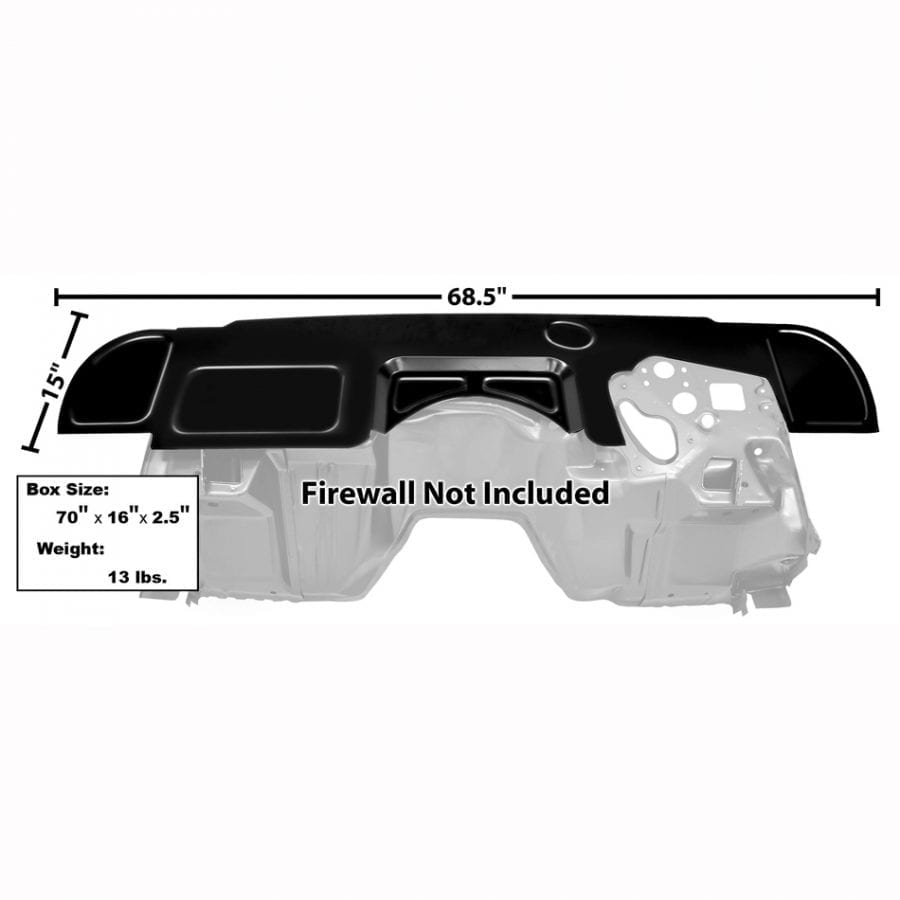1969 Chevy Camaro or Pontiac Firebird Firewall Custom Cover