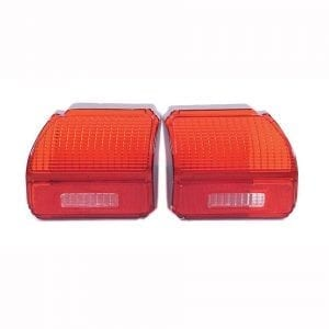 1969 Chevy Chevelle Tail Lamp Lens Pair
