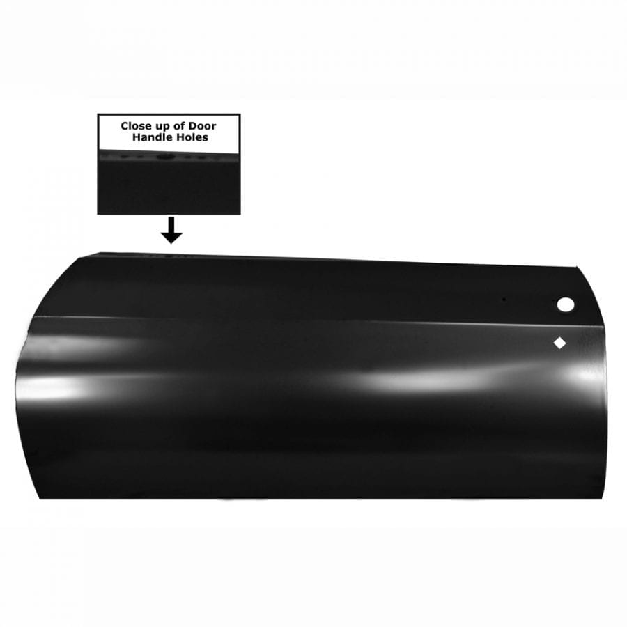 1970-1972 Chevy Chevelle Door Skin Driver Side (LH) 2 Dr