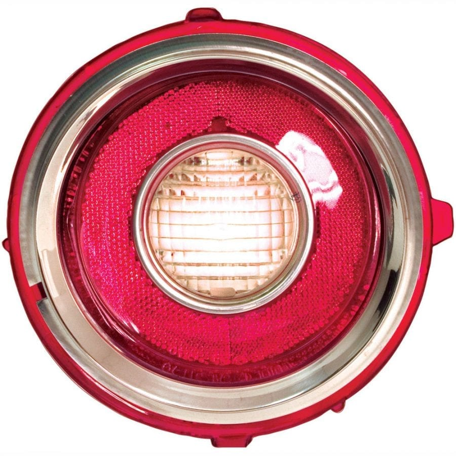 1970-1973 Chevy Camaro Back Up Lamp Driver Side (LH) RS