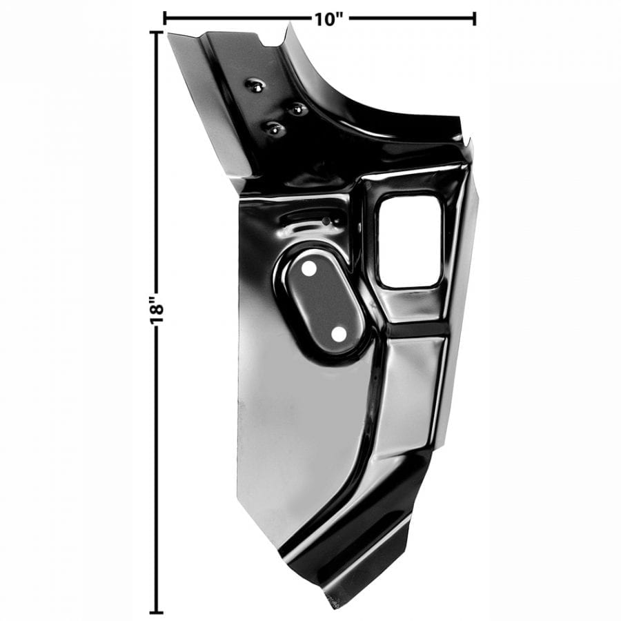 1970-1973 Chevy Camaro Package Tray Extention Driver Side (LH)