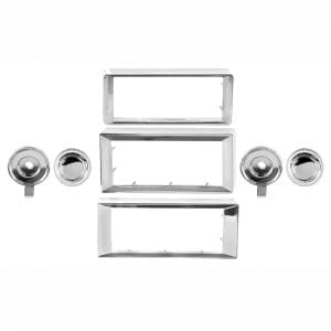 1970-1985 Chevy Monte Carlo Radio Bezel and Knob Kit