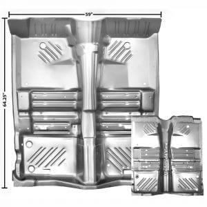 1970 Dodge Challenger Floor Panel