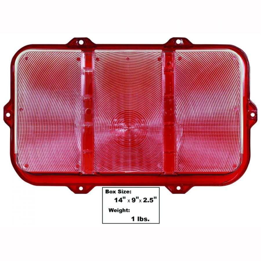 1970 Ford Mustang Tail Lamp Lens Fits Both Sides