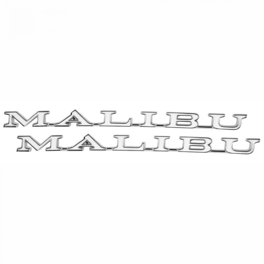 1971-1972 Chevy Chevelle Emblem Fender Malibu