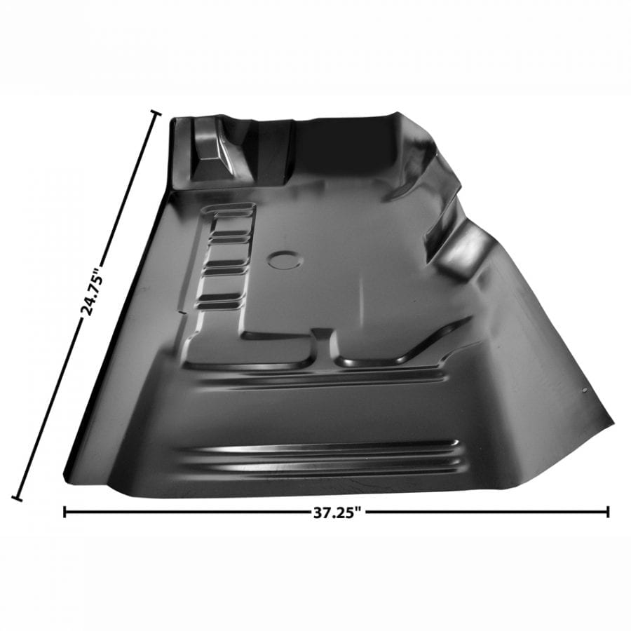 1971-1973 Ford Mustang Floor Pan Front Section Driver Side (LH)