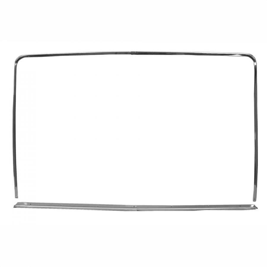 1971-1973 Ford Mustang Window Molding Rear Fastback
