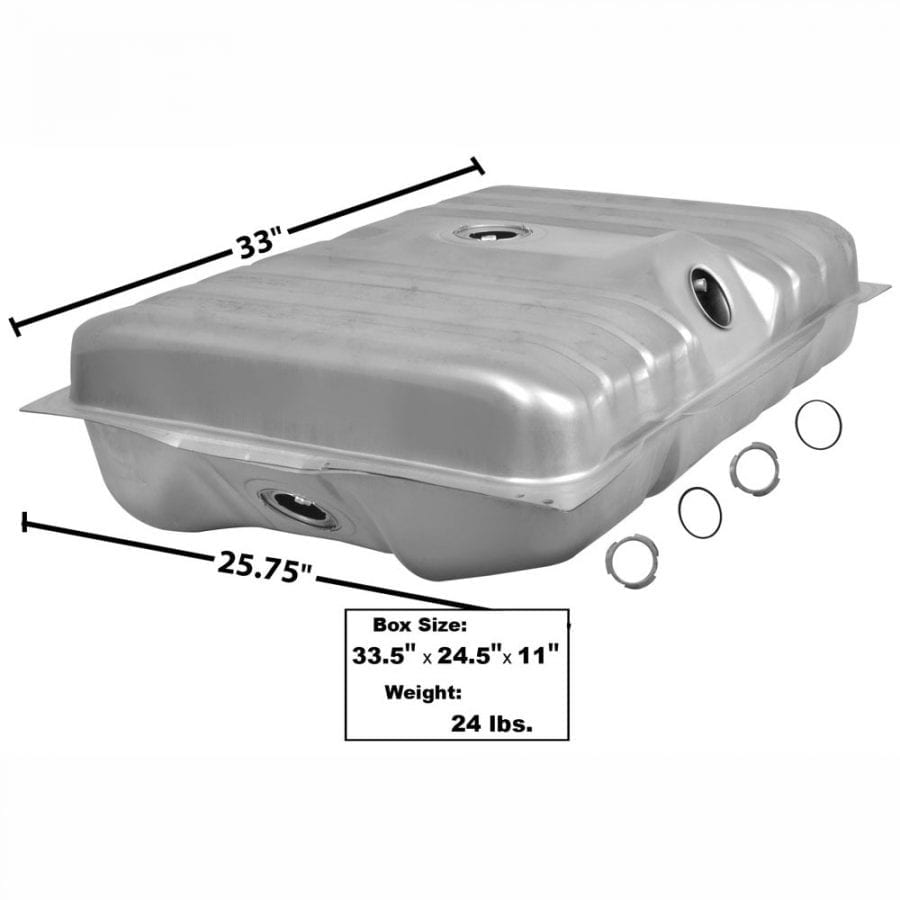 1971-1973 Mercury Cougar Gas Tank 20 Gal