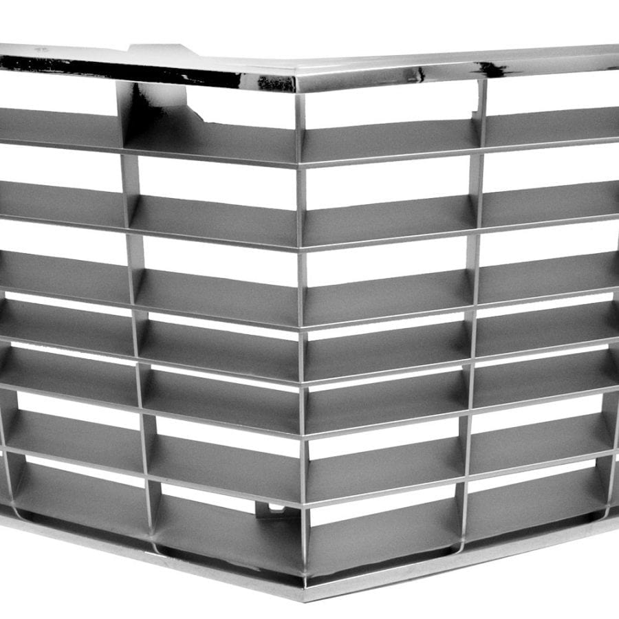 1972-1973 Chevy Camaro Grille Std with Trim Silver