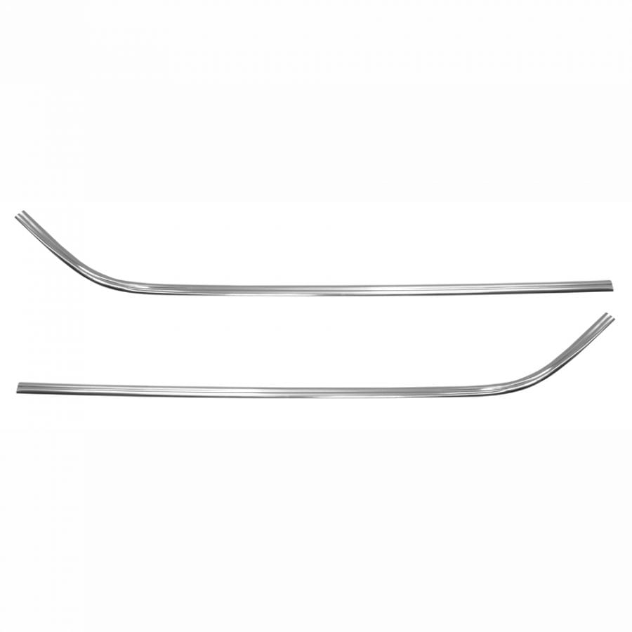 1972-1979 Ford Ranchero Bed Rail Molding Pair