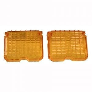 1972 Chevy Chevelle Park Lamp Lens Amber Pair