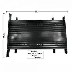1973-1979 Ford Pickup Truck Bed Floor Panel Assembly 8'