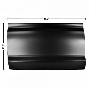 1973-1979 Ford Pickup Truck Door Skin Half Driver Side (LH)