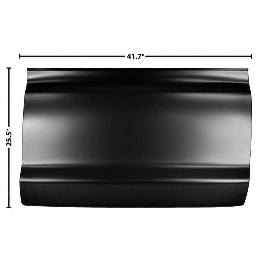 1973-1979 Ford Pickup Truck Door Skin Half Passenger Side (RH)