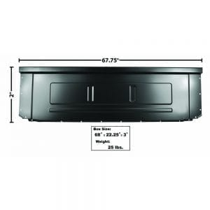 1973-1986 Ford Pickup Truck Bed Front Panel